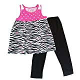 Jumping Beans Toddler Girls 2Pc Legging &Top Set Size 2T
