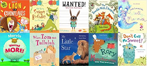 10-set-books-lion-in-me-cornflakes-snappy-birthday-wanted-ralfy-rabbit-book-burglar-the-trouble-with
