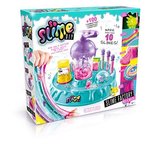 SO SLIME- Slime Factory Mix&Match Juguete, Color Verde...