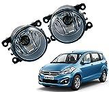 #2: Auto Pearl - Premium Quality Car Fog Lamp Lights For - Maruti Suzuki Ertiga Type-2 (Without Plastic Sash Cover)
