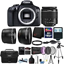 Canon Eos 1300D 18MP DSLR Camera With 18-55mm Lens, Canon 100ES Case And 16GB Ultimate Accessory Kit
