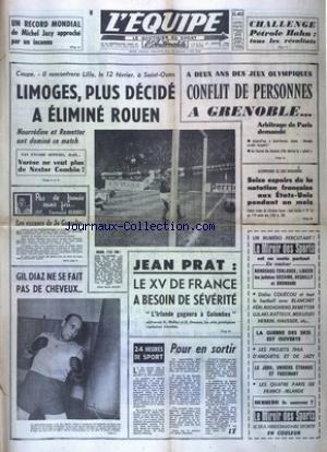 EQUIPE (L') [No 6168] du 27/01/1966