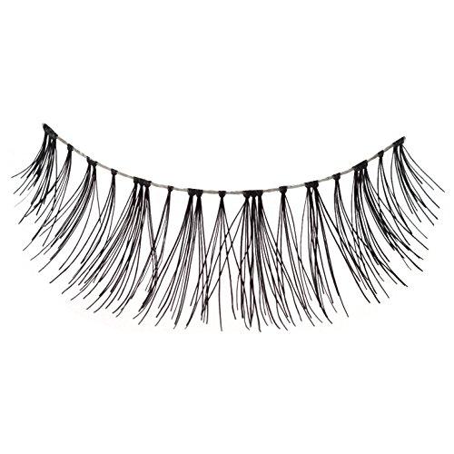Lazy Lashes 100% Human Hair False Eyelashes - Smoke