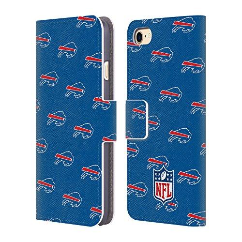 Ufficiale NFL Marmo 2017/18 Buffalo Bills Cover a portafoglio in pelle per Apple iPhone 4 / 4S Pattern