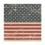 XiangHeFu Tovagliette Americane Bandiera 30,5x 30,5cm One Piece termoresistente Antiscivolo per Tavolo, Poliestere e Misto Poliestere, Image 248, 12x12x1(in)
