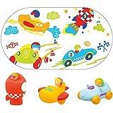 Knorrtoys 37014 juguete para baño - juguetes para baño y pegatinas (Bath toy, 690 x 390 mm, Tubo, Multi)