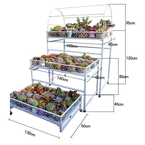 Können Mobil Blumenregal Garten Blumentreppe for Balkon Im Freien Ausstellungsstand