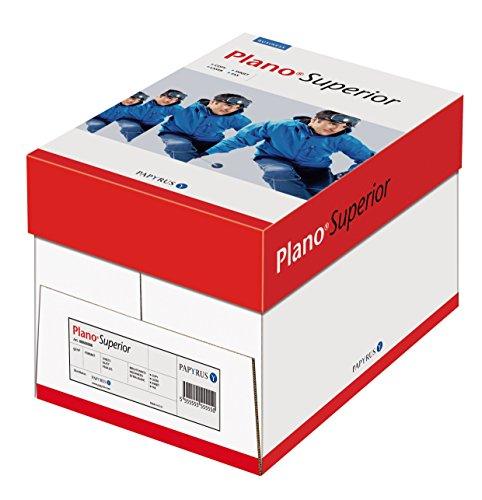 Papyrus 88026786 Drucker-/ Kopierpapier Premium: Planosuperior 120 g DIN-A4, 5x250 Blatt, blickdicht, Matt, hochweiß