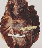 cuhair 2pcs Weihnachtsgeschenk Frauen Mädchen Haarspange Zubehör Spange Stift Kamm