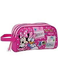 Disney Minnie y Daisy Neceser Adaptable, Color Rosa