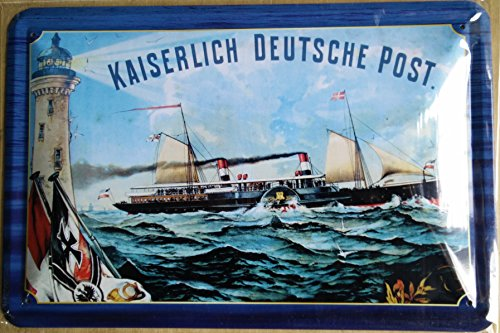 kaiserlich-deutsche-post-plaque-metal-courbe-nouveau-30x20cm-vs4665-1