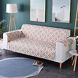 Zwei Sitzer - Wasserdicht Gesteppte Sofabezüge - Sessel Möbelschutz Für Hunde Haustiere Kinder Sofabezug,E