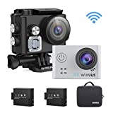 WiMiUS L2 Action Cam 4K, Sport Camera Ultra HD 12MP Fotocamera Subacquea Impermeabile 40M...