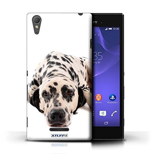 Kobalt® Imprimé Etui / Coque pour Sony Xperia T3 / Bouledogue conception / Série Chiens Dalmatien