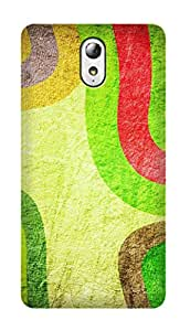 SWAG my CASE PRINTED BACK COVER FOR LENOVO VIBE P1M Multicolor
