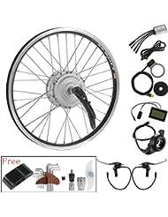 "36V250W20""Roue Avant Libre avec Hub Moteur Electrique Bicycle E-Bike Hub Motor Conversion Kit"