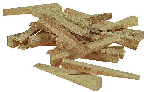 Stubai Fliesenkeile Buchenholz, 250 Stück, 7 x 54 x 6 mm, 419830