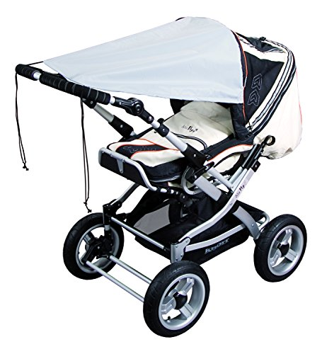 Sunnybaby Universal Sun Shade for Pram or Stroller (Grey)