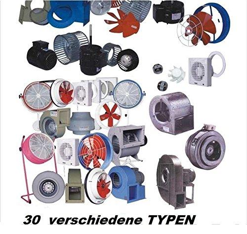 ... 300mm Industrie TURBO Wandventilator Axial Radial Metall Ventilator  Gebläse Lüfter Motor Abluft Wandgebläse Wandlüfter Fensterlüfter  Fenstergebläse ...