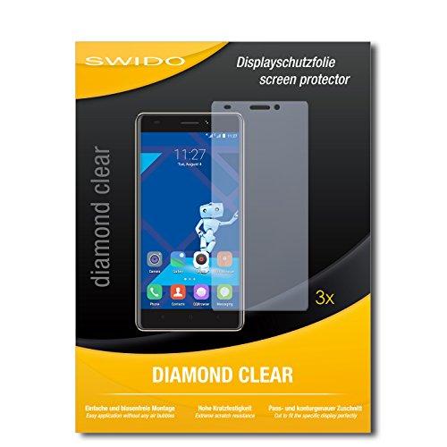 3 x SWIDO® Schutzfolie Haier Phone L53 Bildschirmschutz Folie