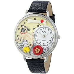 Reloj de cuarzo para hombre, con correa de cuero, color multicolor