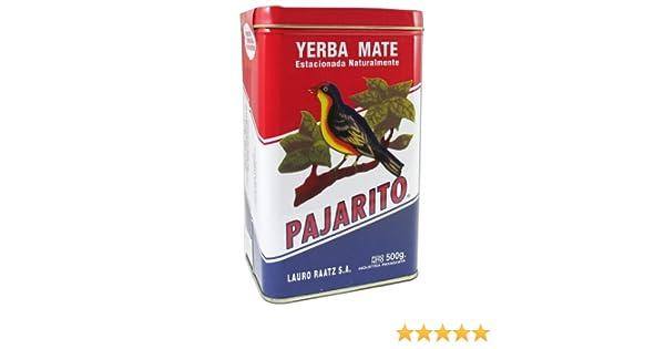 Pajarito Werkzeuge mate pajarito dose 500g amazon de küche haushalt