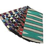 netproshop Pferd Sattelunterlage Navajo Westerndecke Auswahl, Farbe:Gruen/Bordeaux