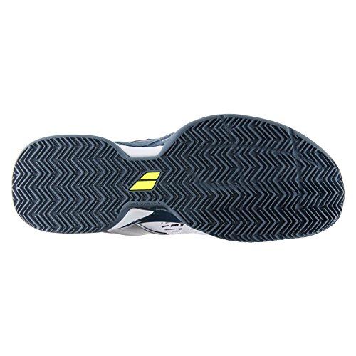Furia Uomo Nero Colori Grigio Babolat Da Scuro Tennis Argilla bianco Spinge Scarpe Più 4HdBfRq