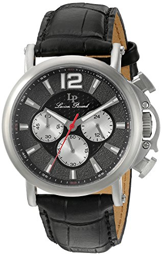 Lucien Piccard Men's Analogue Quartz Watch with Leather Strap LP-40018C-01