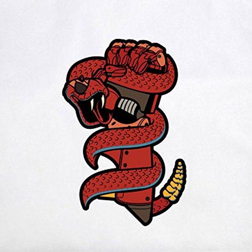 Snake Bionic - Stofftasche / Beutel Gelb