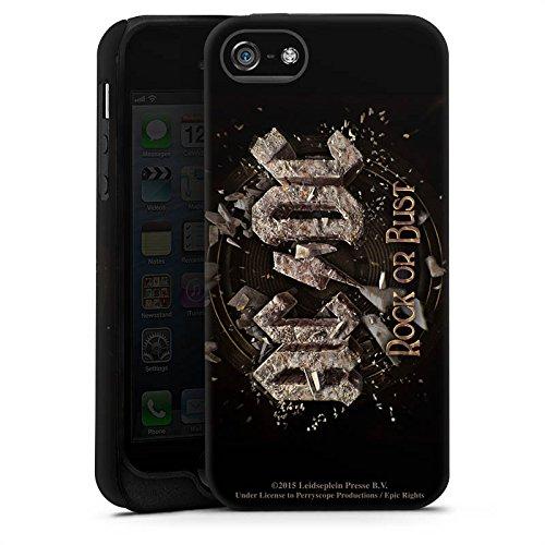 Apple iPhone 7 Silikon Hülle Case Schutzhülle ACDC Merchandise Fanartikel Rock or Bust Tough Case matt