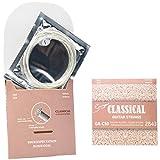 Gitarrensaiten Konzertgitarre Akustikgitarre ★ Premium Nylon Saiten für klassische Gitarre & Akustikgitarre (6 Saiten-Set)