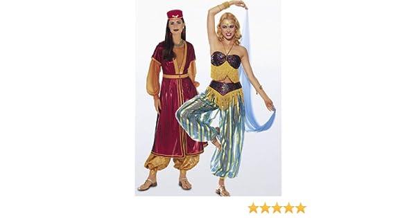 burda Schnittmuster 3043 Haremskostüm - Kombination: Amazon.de ...