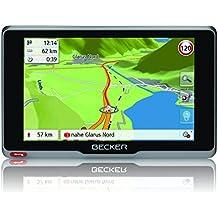 Becker ready.5 EU plus Navigationsgerät (12,7 cm (5 Zoll) Bildschirm, 45 Länder vorinstalliert, Live Verkehr, Blitzerwarner, Bluetooth)