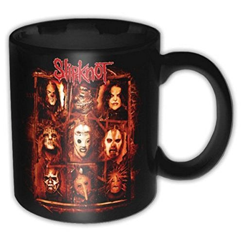 SLIPKNOT - Tazza in ceramica - Band Group Shot - Confezione regalo