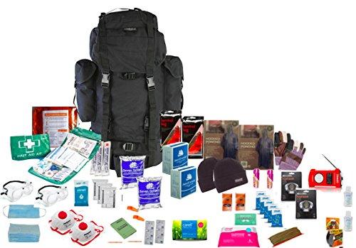 "Notfall-Überlebens-Kit, 72 Stunden, Zwei Persoenn, ""Go Bag"""
