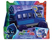 """Go """"into the night to save the day"""" and re-live your favourite PJ Masks adventures with the PJ Masks Vehicle and Figure assortment! Pounce into action with Cat Boy and his stealthy Cat Car, Fly to the rescue with Owlette and her soaring Owl G..."""
