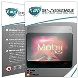 Slabo 2 x Bildschirmschutzfolie Point of View Mobii 825 Bildschirmschutz Schutzfolie Folie No Reflexion|Keine Reflektion MATT-Entspiegelnd MADE IN GERMANY