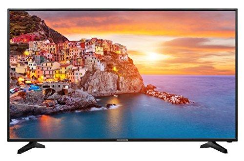 MEDION LIFE P18116 MD 32010 163,8 cm (65 Zoll UHD) Fernseher (LCD-TV mit LED-Backlight, HD Triple Tuner, DVB-T2 HD, USB, HDMI, CI+, Mediaplayer) schwarz