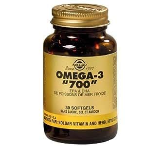 Solgar - Oméga 3 « 700 » 60 Gélules