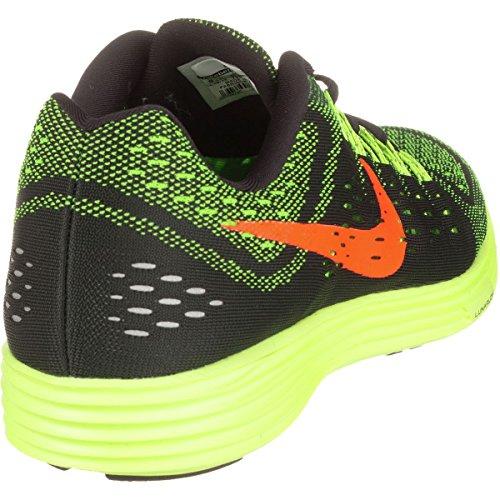 Nike LunarTempo Herren Laufschuhe Schwarz / Orange / Grün (Schwarz / Hyper Orange-Grn Strike)