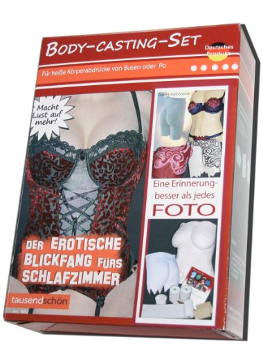 Das Geschenk für Verliebte, Bodyabdruck, Gipsabdruck von Brust oder Po, Gipsabdruck Oberkörper (Stück Ein Oberkörper Lange)