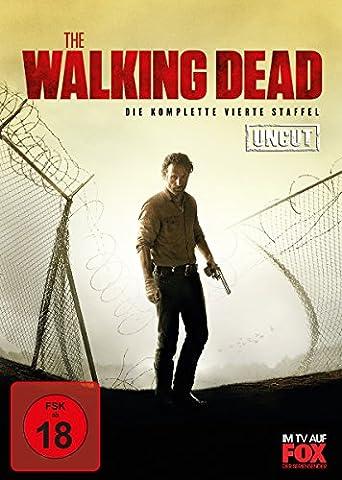 The Walking Dead - Die komplette vierte Staffel (Uncut, 5 Discs) (Staffel 4 Walking Dead)