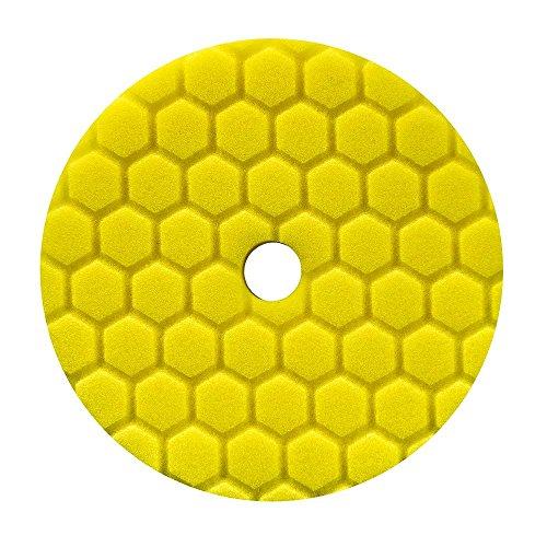 chemical-guys-hex-logic-quantum-polierpad-55-inch-140mm-gelb-heavy-cutting-schleifpad