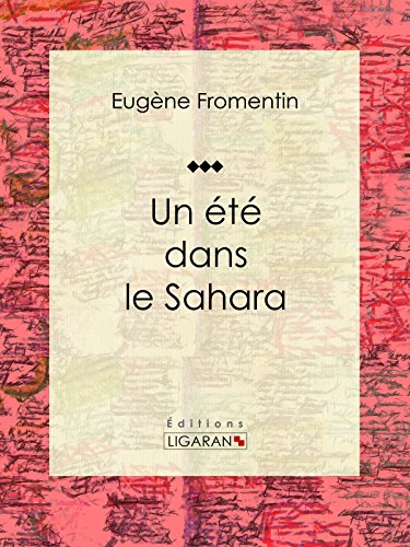 Un été dans le Sahara: Récit et carnet de voyages (French Edition)