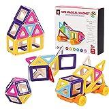 Kurtzy Magnetic Building Block DIY Construction Puzzle Toy Set for Kids 40 PCs