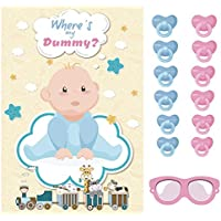 Happium - Party Game Pin The Dummy On The Baby X 24 dummies