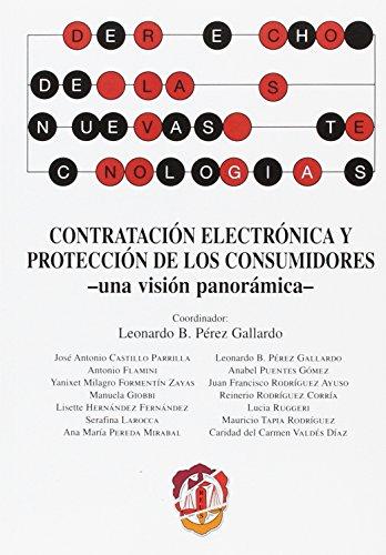 Contratación electrónica y protección de los consumidores: Una visión panorámica (Derecho de las nuevas tecnologías)