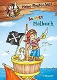 Meine Piraten-Welt: Buntes Malbuch: Mit 16 bunten Seiten!