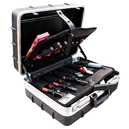 CIMCO 175337 Meisterkoffer 22 Teile Werkzeugset Werkzeugtasche